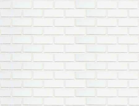 Sfondo bianco trama di mattoni.