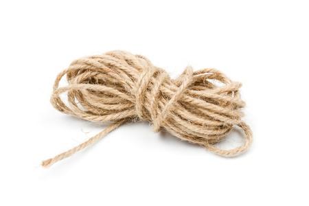 twine clew, rope, brown string