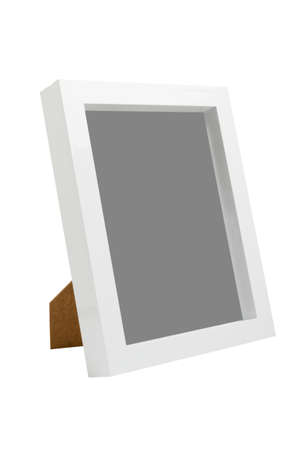 table photo frame, isolated photo