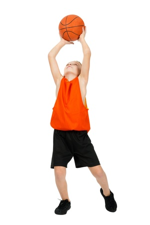 boy -  basketball player photo
