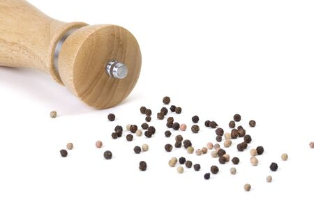 pepper mill with peppercorn