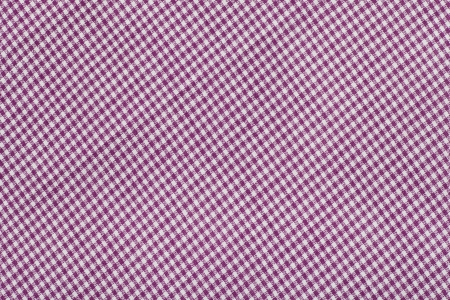 purple tartan pattern, checkered  fabric photo
