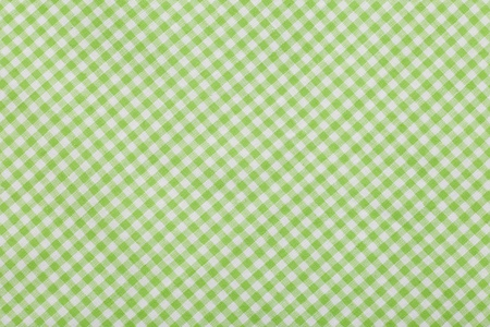 green Checkered tablecloth Background photo