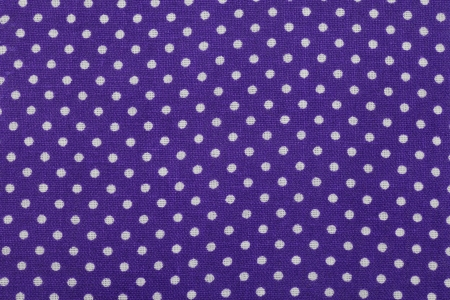 Blue polka dot fabric pattern photo