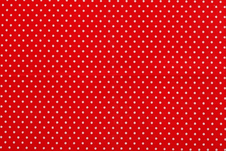 red polka dot fabric pattern photo