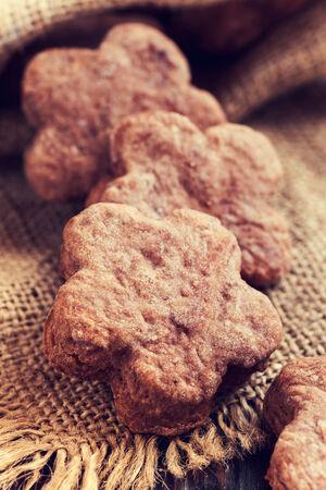 homemade cookies, vintage stylized photo photo
