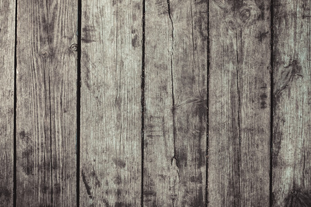 tramping: vintage stylized gray planked wood board