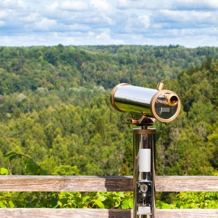 observe: Telescope to observe the nature landscape