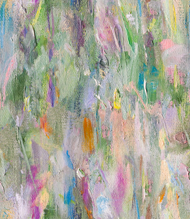 oil paint: Abstract seamless oil paint pattern in pastel colors Stock Photo