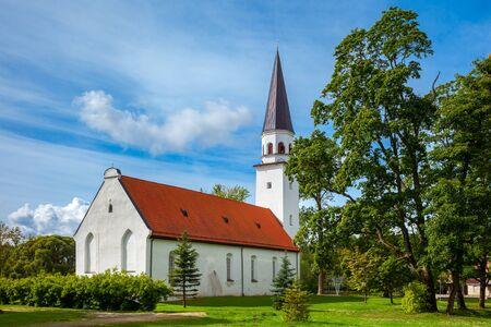 sigulda: Lutheran Church of St. Berthold in Sigulda, Latvia.