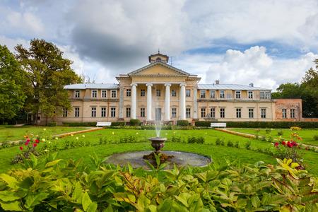 sigulda: Krimulda palace in Gauja National Park near Sigulda, Latvia.