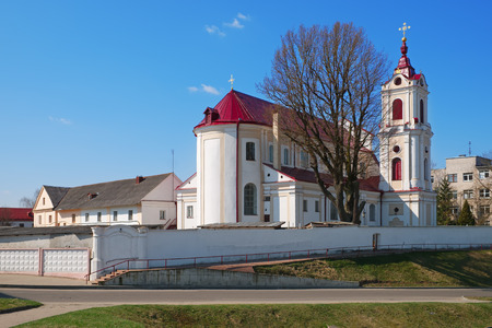priory: The Church of Our Lady of Angels and the Monastery of the Franciscans in Grodno, Belarus.