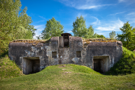 Brest, Belarus - May 12, 2015: The Fifth Fort of Brest Fortress. Brest, Belarus.