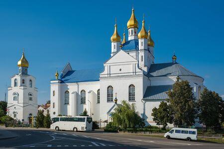 Transfiguration Cathedral, Orthodox church. Slonim, Grodno region, Belarus.