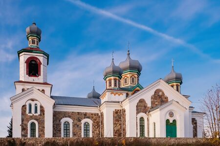 Church of Protection of the Holy Virgin in Turec village, Grodno region, Belarus.