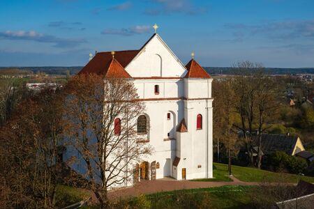 The Farnese Church of Transfiguration of the Lord in Novogrudok, Grodno region.  版權商用圖片