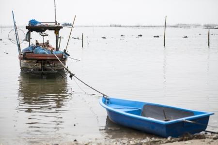 fischerei: Das alte Fischerboot f�r K�stenfischerei