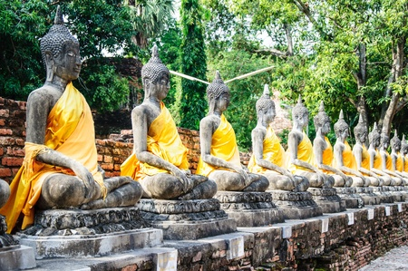 Ancient Buddha images in Ayuttaya period have 400 years old  photo
