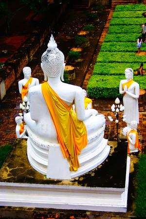 Big white buddha