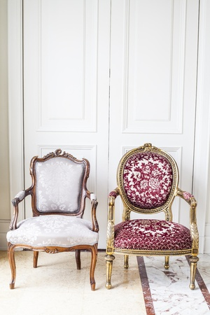 Luxury antique chair