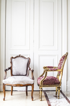 antique chair: Luxury antique chair