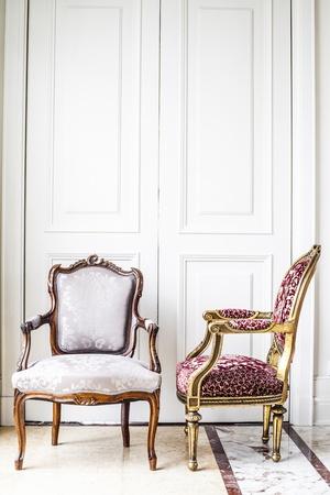 antique furniture: Luxury antique chair