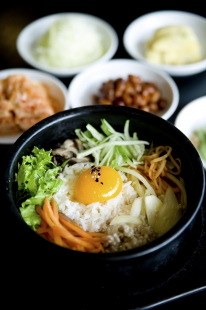 korean cuisine, Yakiniku bibimap rice photo