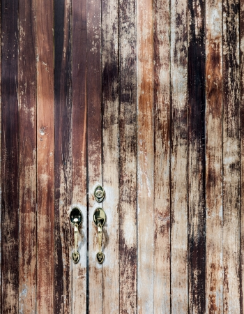 Wooden door. Stock Photo