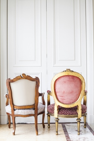 Luxury antique chair  photo
