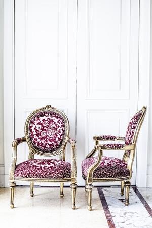 Luxury antique chair Stock Photo - 16150168