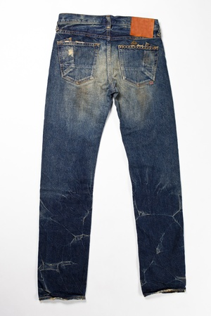 white pants: Blue Jeans