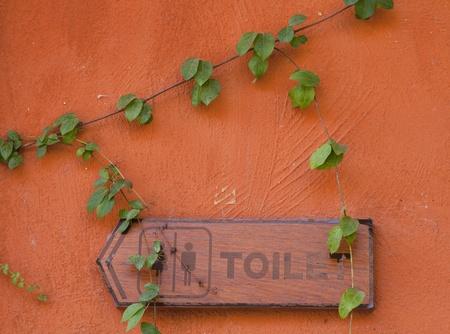 Toilet sign Stock Photo - 16324206