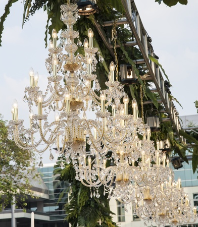 chandeliers outdoor