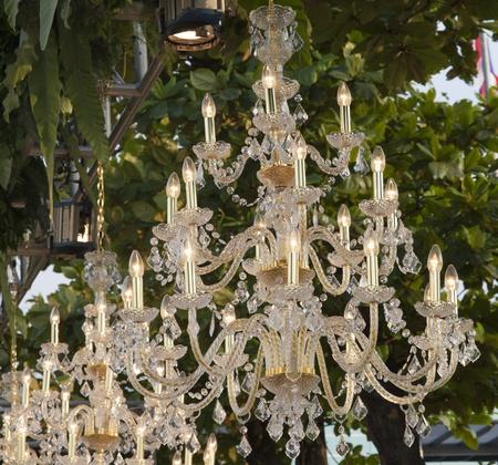 chandeliers outdoor Stock Photo - 17877842
