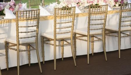 Der elegante Tisch Standard-Bild - 17901648