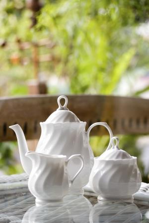 Tea time Standard-Bild - 17957055