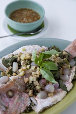 Fish dish Stock Photo - 17957054