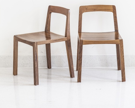 antique furniture: Simple wooden chair