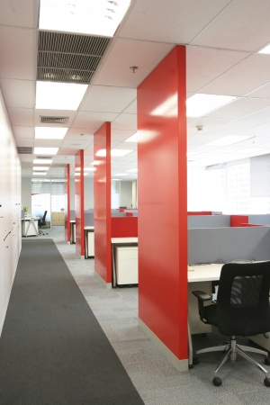 Modern office interior Standard-Bild - 19454433