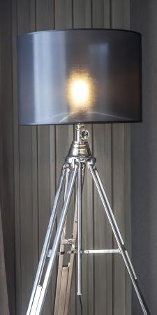 dark interior: Lamp in the dark interior