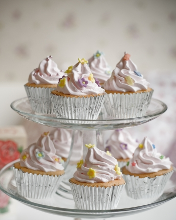 Wedding cupcakes Stock Photo - 19714112