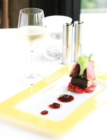 beefsteak: Beefsteak luxury  Stock Photo