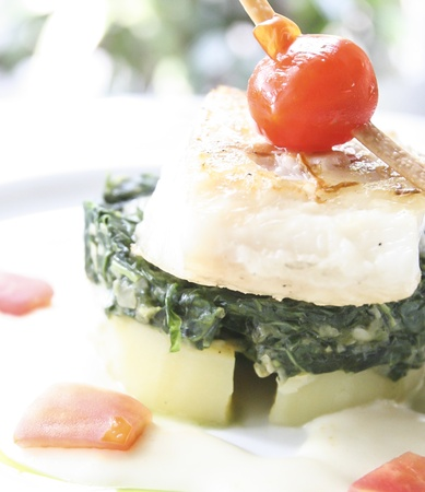fish with vegetables Stock Photo - 20192892