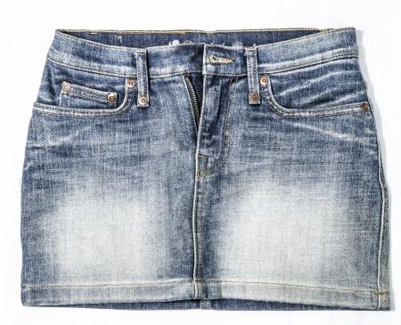 Jean skirt photo