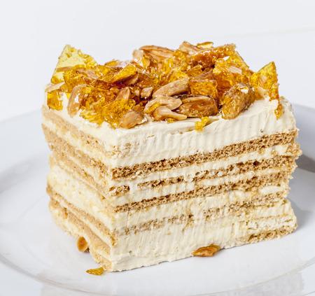 sweetened: Caramel Toffee Cake