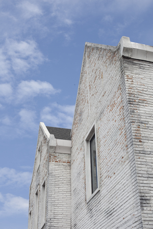ruby house: White brick home