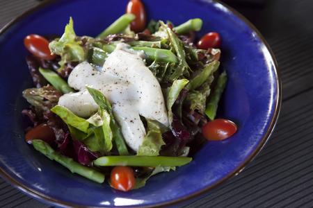 Delicious salad photo