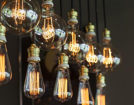 Vintage Verlichting interieur