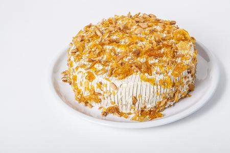 toffee: Toffee taart