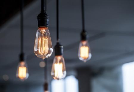 beautiful lighting decoration Stock Photo